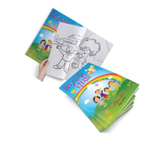 A4 Boyama Kitabı ( 16 Sayfa )