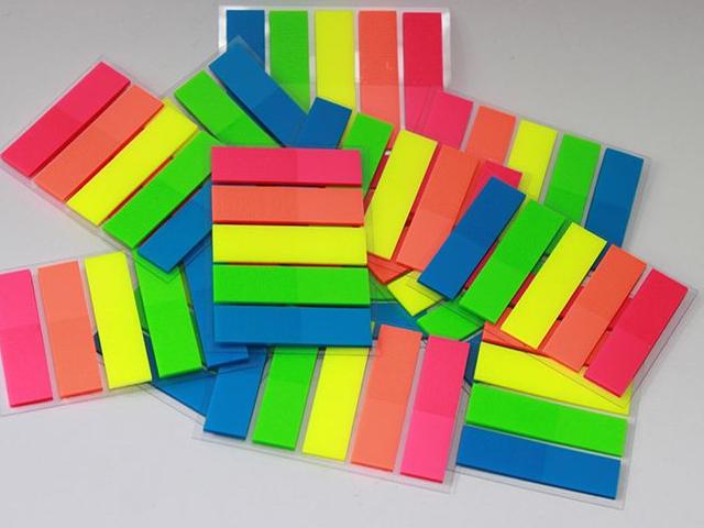 Renkli PVC Ayraç