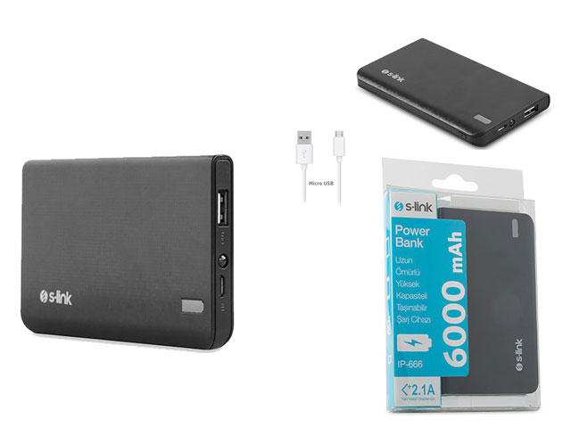 Powerbank 6000 mAh