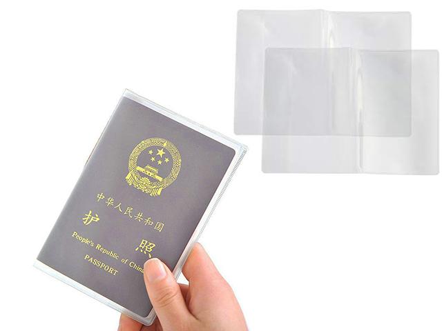 Şeffaf Pasaport Kabı