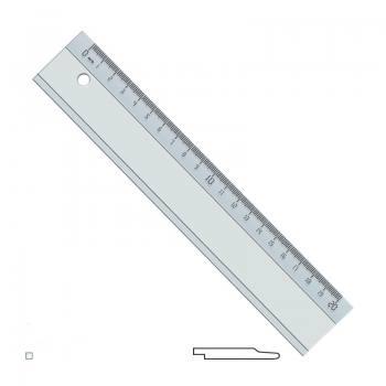 20 cm Plastik Cetvel