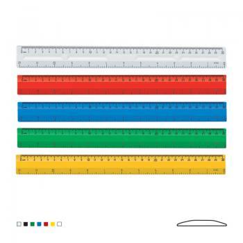 30 cm - 12 inç Plastik Cetvel