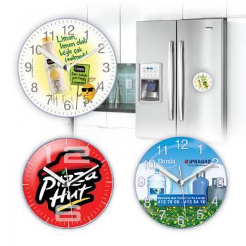 Fulya Mıknatıslı Buzdolabı Saati