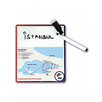 Kalemli Üzerine Not Alınabilir Magnet