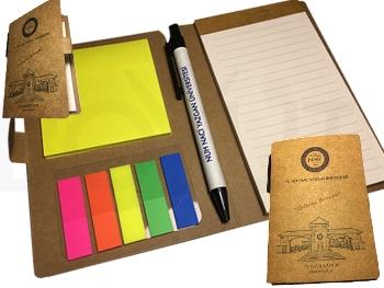Kalemli Kendinden Yapışkanlı Notluklı Cep Bloknot