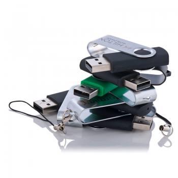 Promosyon Döner Metal Kılıflı Usb Bellek (16 GB)