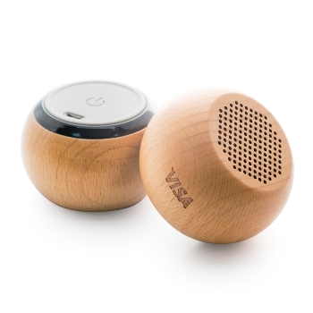 Ahşap Bluetooth Hoparlör
